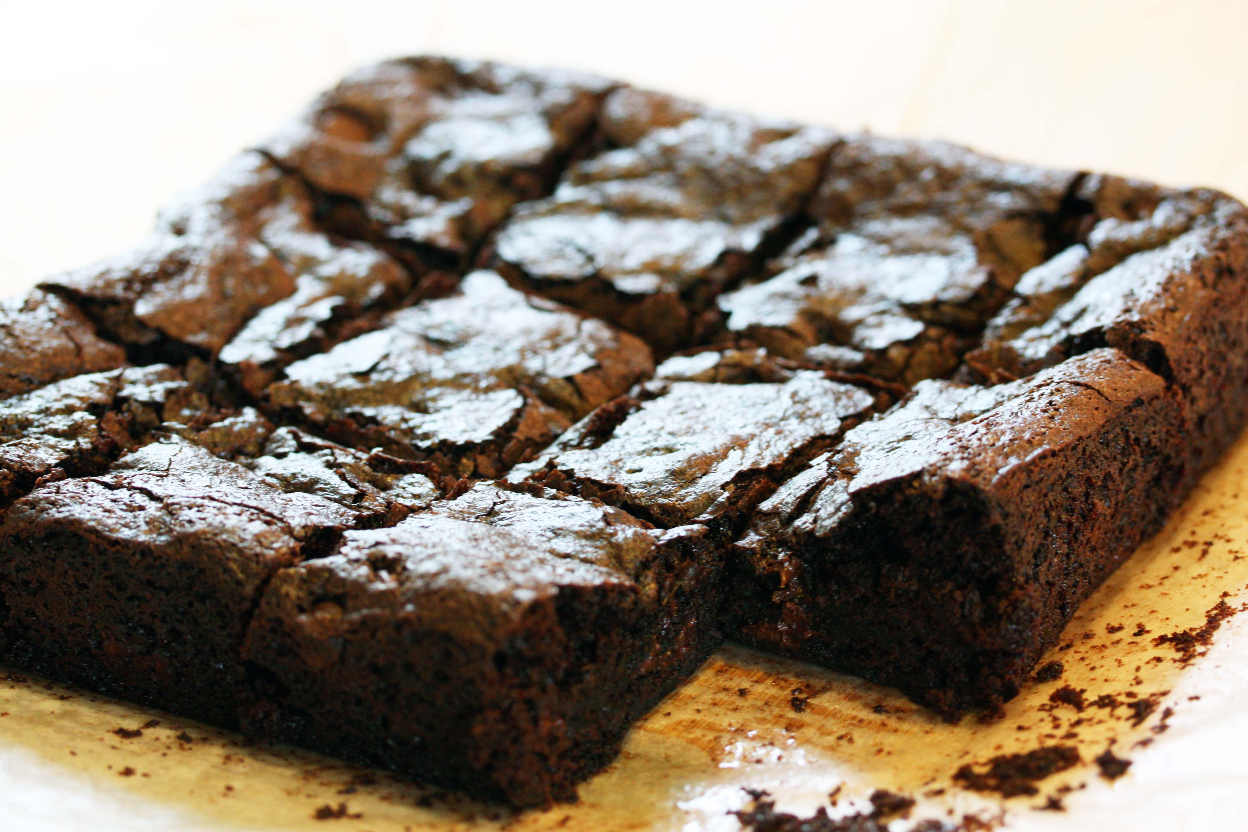 How To Make Brownies Out Of Chocolate Cake Mix