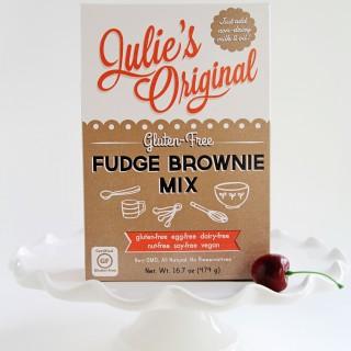 Julie's Original Gluten-Free Fudge Brownie Mix|juliesoriginal.com