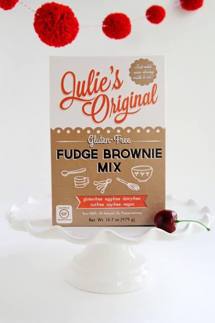 Julie's Original Gluten-Free Fudge Brownie Mix|juliesoriginal.com