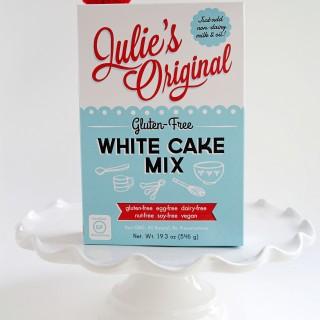 Julie's Original Gluten-Free White Cake Mix|juliesoriginal.com
