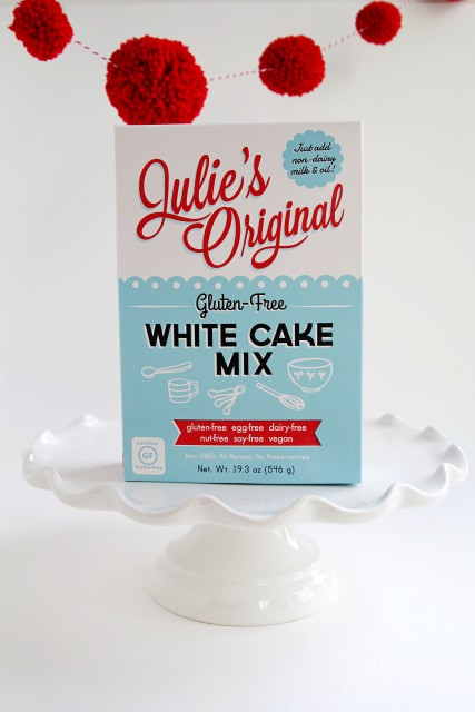 Julie's Original Gluten-Free White Cake Mix|juliesoriginal.com