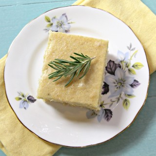 Italian Cornmeal Cake (gluten-free & vegan)