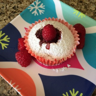 Vanilla Raspberry Cupcakes (gluten-free & vegan)