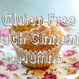 Gluten-Free Peach Cinnamon Sugar Muffins