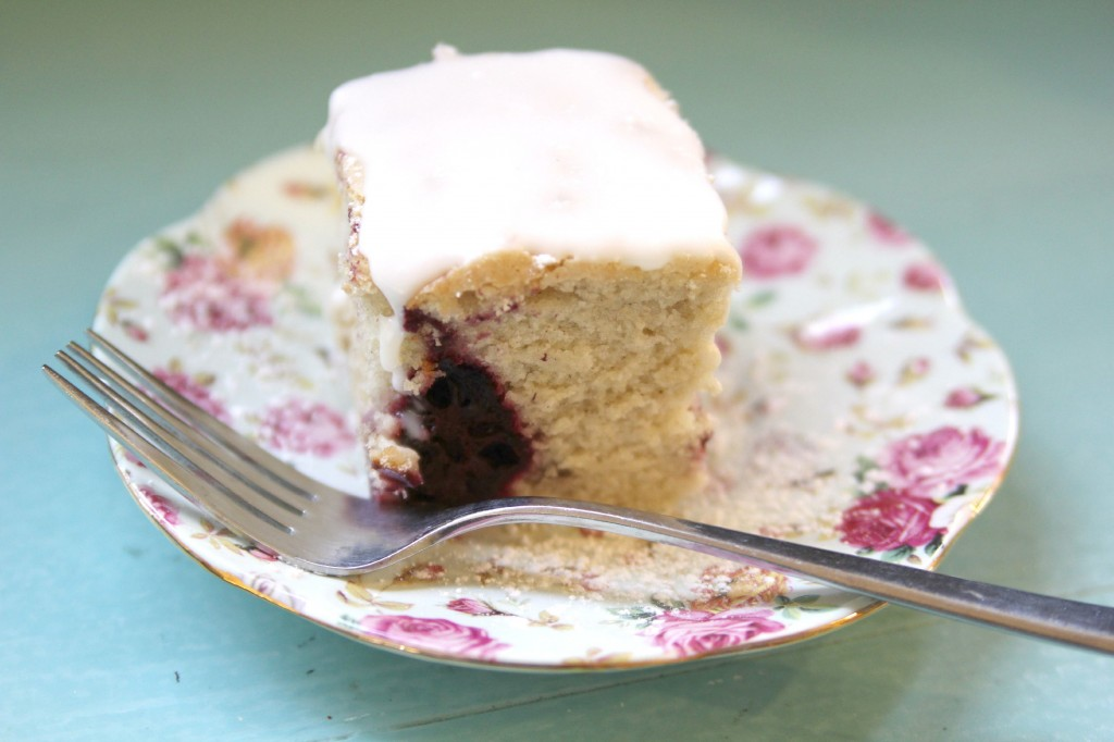 Gluten-free vegan Lemon Blackberry Cake Julie Hasson