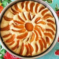 Gluten-Free Vegan Apricot Cake|juliesoriginal.com