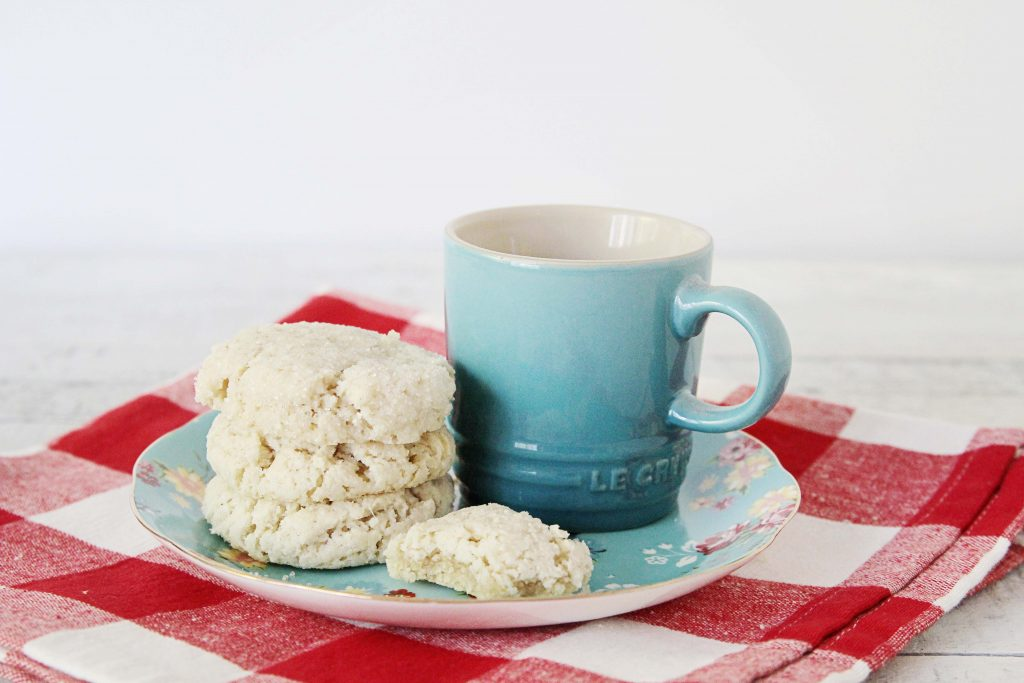 A Photo Of Gluten-Free + Vegan Almond Sugar Cookies
